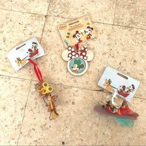 Bundel of Disney Christmas ornaments